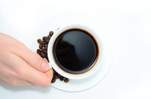 コーヒーを控える