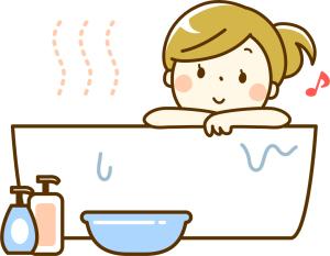 妊娠初期に続く下痢の改善方法入浴