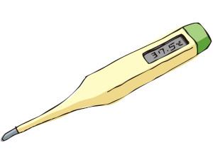 基礎体温の低温期が高い