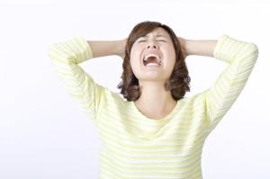 基礎体温の低温期が高いのはストレス