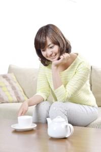 お茶を飲んでダイエット脂肪の吸収を抑えるお茶