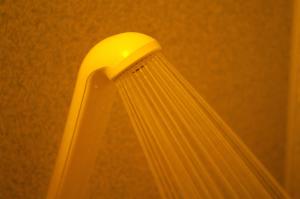 汗疹予防には直接肌にシャワーをかける時間を短くする