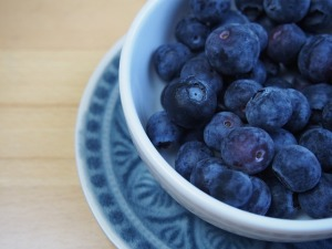 視力回復によい食べ物といえばブルーベリー