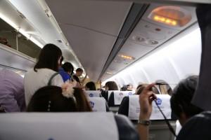 妊娠中の飛行機の注意点エコノミー症候群