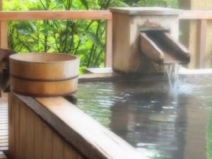 安定期の旅行での温泉