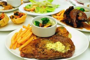 悪い食習慣は肉ばかりの食事