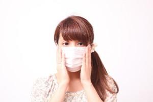 マスクで口臭確認