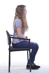 座るだけで正しい姿勢を覚えて骨盤底筋群を鍛えるトレーニング方法