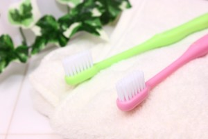 歯ブラシは2本用意