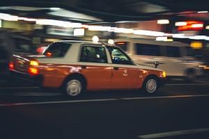 力強い専用タクシーの存在!