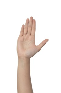 コッソリできる「手」のツボ