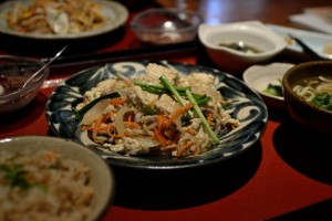 沖縄食材ダイエットでチャンプル