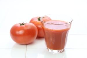 夏血栓予防にトマト