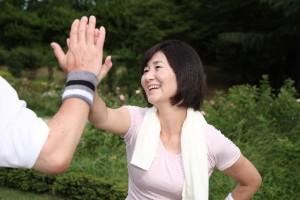 更年期障害に打ち勝つため運動や食事に気を使いましょう