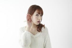 突発性難聴は片耳だけ急にきこえなくなる