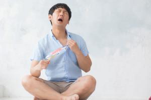夏に怖い熱中症