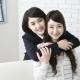 001 女子高生とお母さん 学生とママ 親子