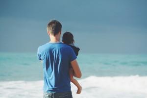 男性の年齢と自閉症の出現率