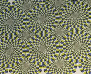 動いているように見える錯覚