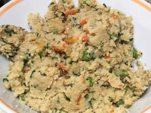 粉豆腐の炒り煮