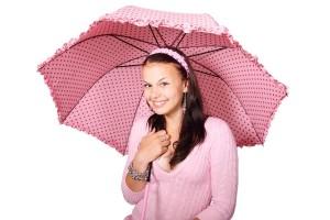 傘を使うことで、お風呂場がサウナに!?