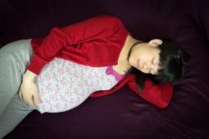 臨月になると猛烈な睡魔に襲われることが多くなります