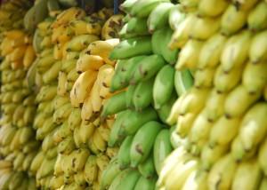 バナナは特に糖質が多い果物
