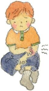 アトピー性皮膚炎の症状には、、じくじくとした液が出てただれた状態のものもあります。