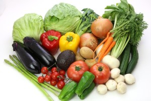 肌サビ予防には抗酸化作用を持つ野菜類や果物類が大事。