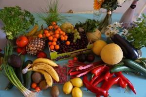 ビタミン豊富な果物や野菜を取ろう