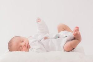 赤ちゃんのデリケートな肌。