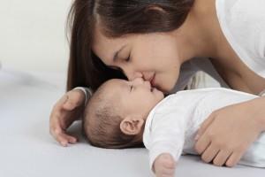 生後三か月で生まれたときの二倍の体重に?