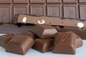 冬はチョコレート