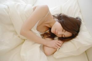 しっかりと睡眠をとる!