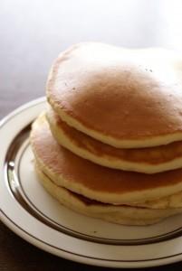 粉豆腐入りのパンケーキ♪