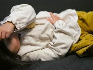 寝相が悪いことは子供の成長に必要なことでした