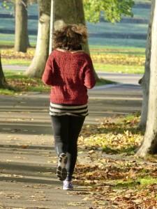 秋は気持ちよく運動できる季節。