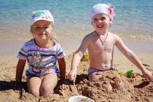 砂の中に混じっていることも!