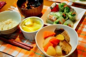 和食を食べるようにしましょう