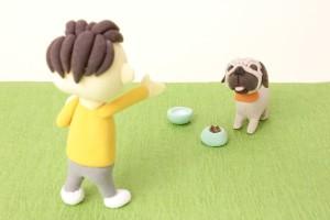 ペットを育てるために自然と体重が落ちていくゲームアプリ