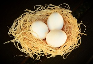卵の代用品として使えます。
